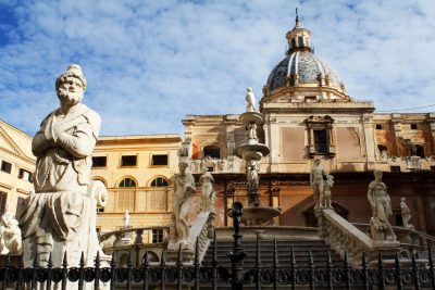 Piazza Pretoria Palermo flickr foto de Dimitry B