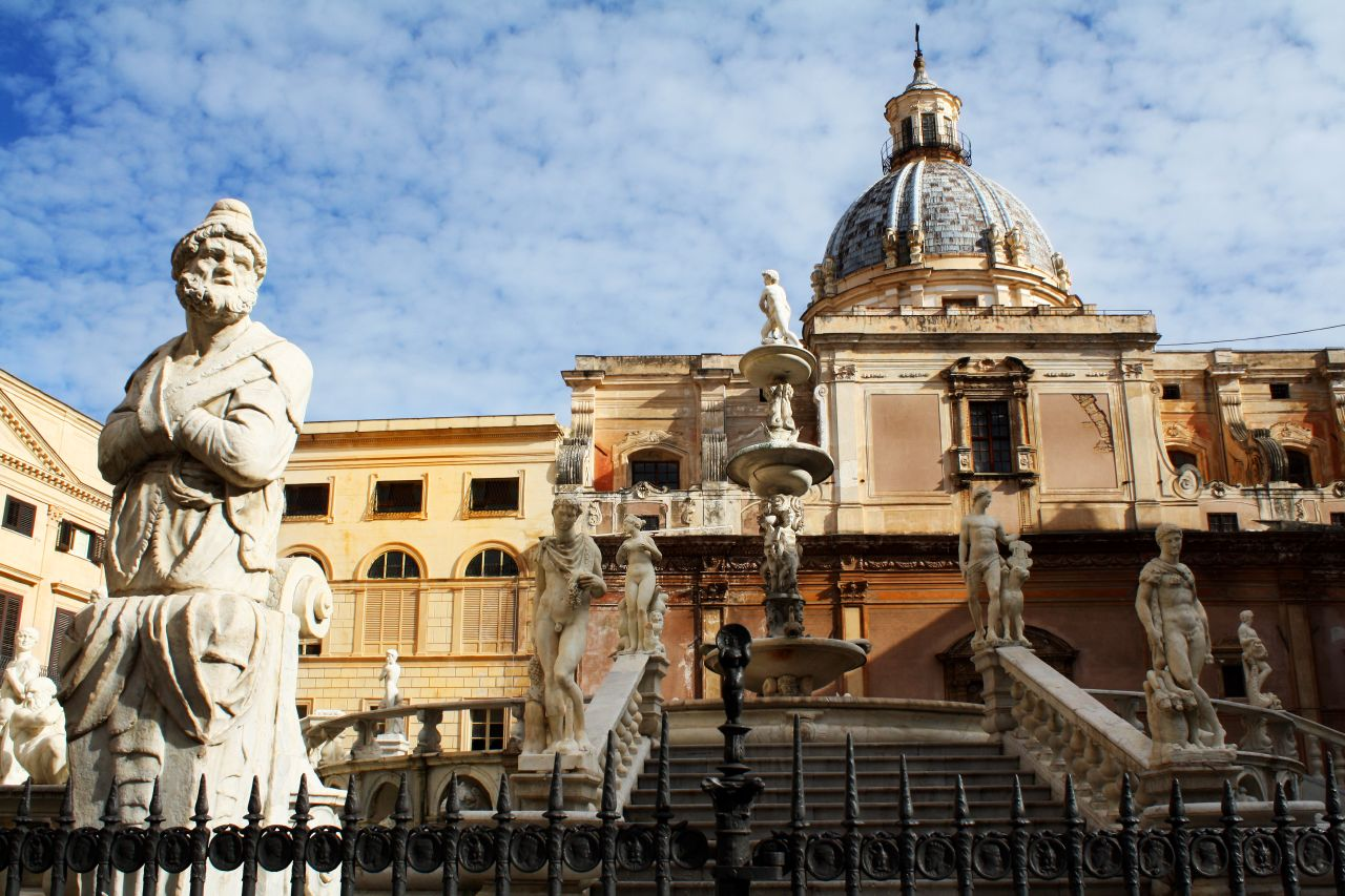 Piazza Pretoria Palermo flickr foto de Dimitry B