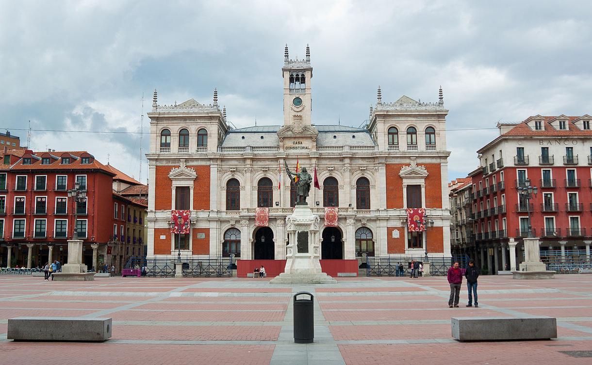 Ayuntamiento de Valladolid Wikicommons foto de Xavi Lopez